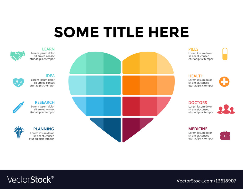 Love infographic medical diagram heart royalty free vector love infographic medical diagram heart vector image ccuart Image collections