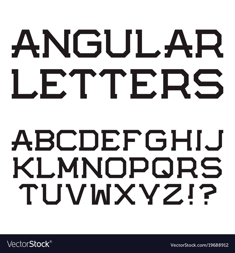 Letters stylish fonts photo