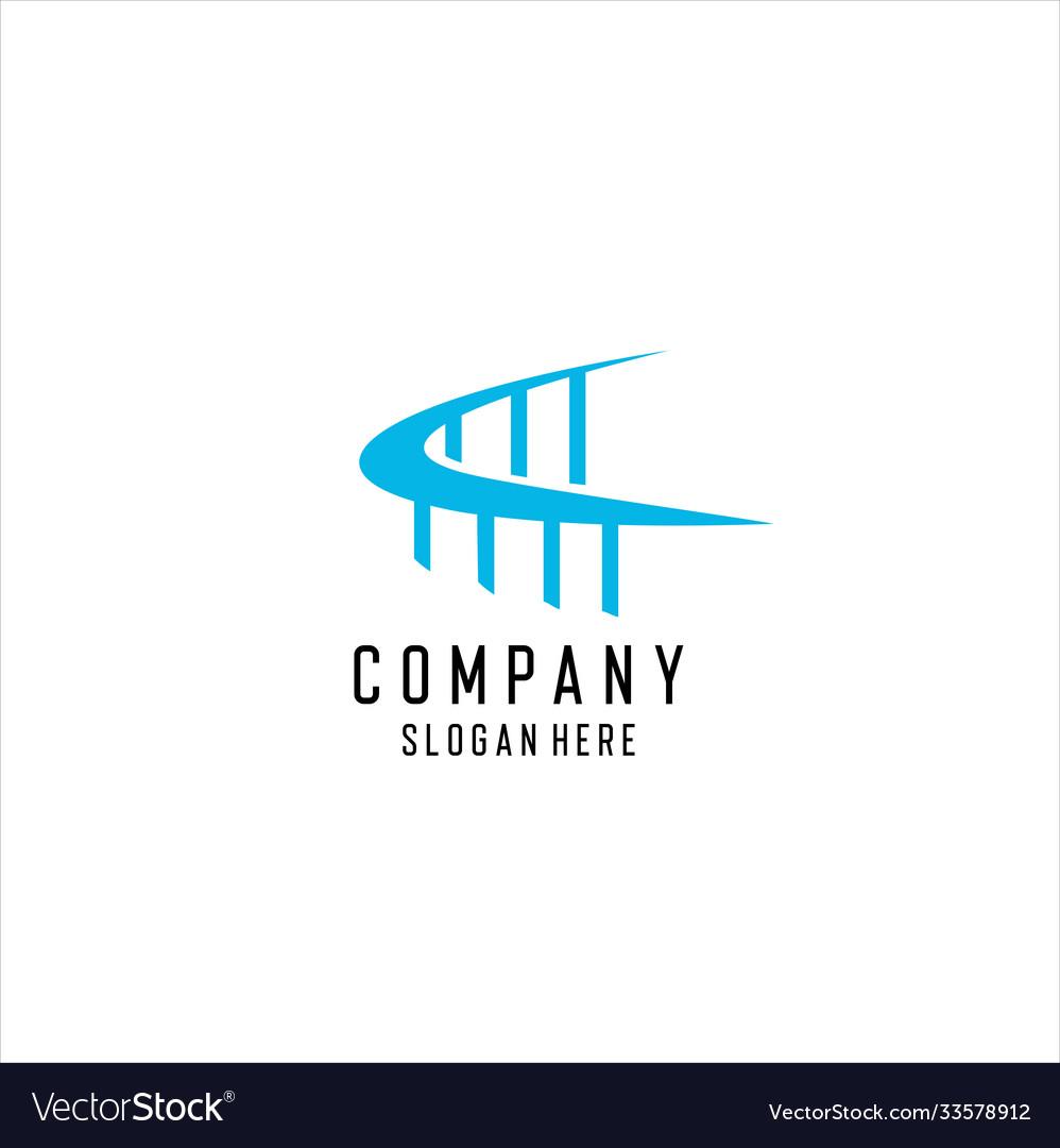 Bridge logo template icon