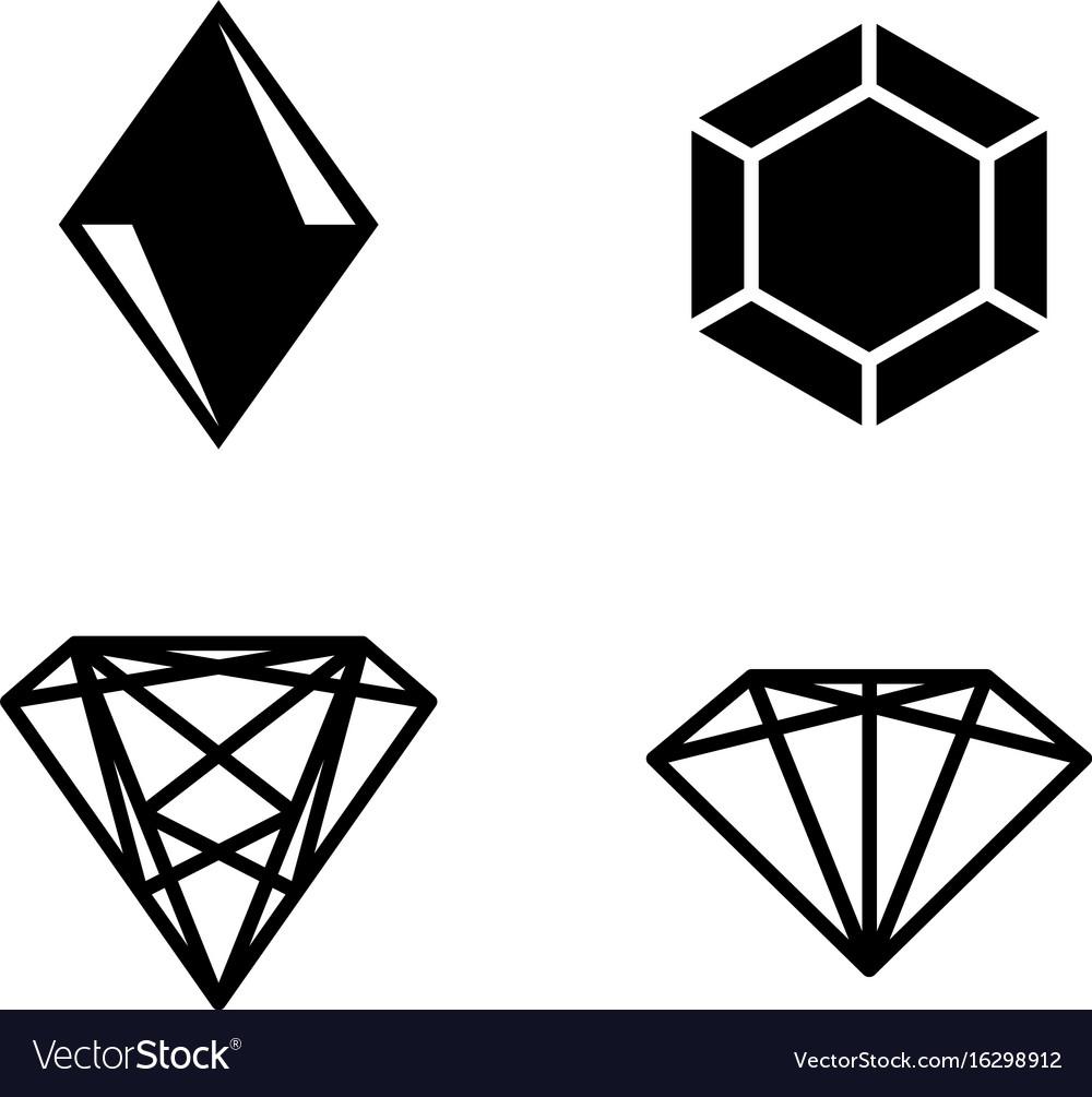 Gems vector image