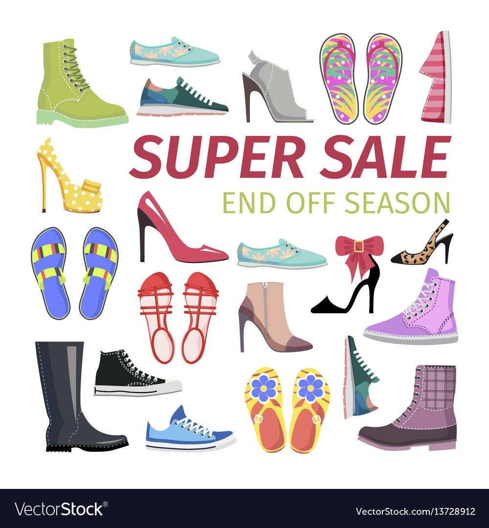 Super sale end off season big shoes