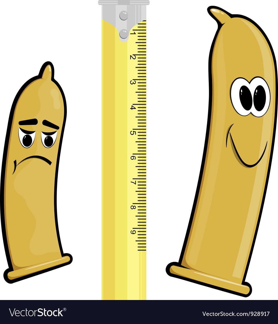 Cartoon condoms EPS10 vector image