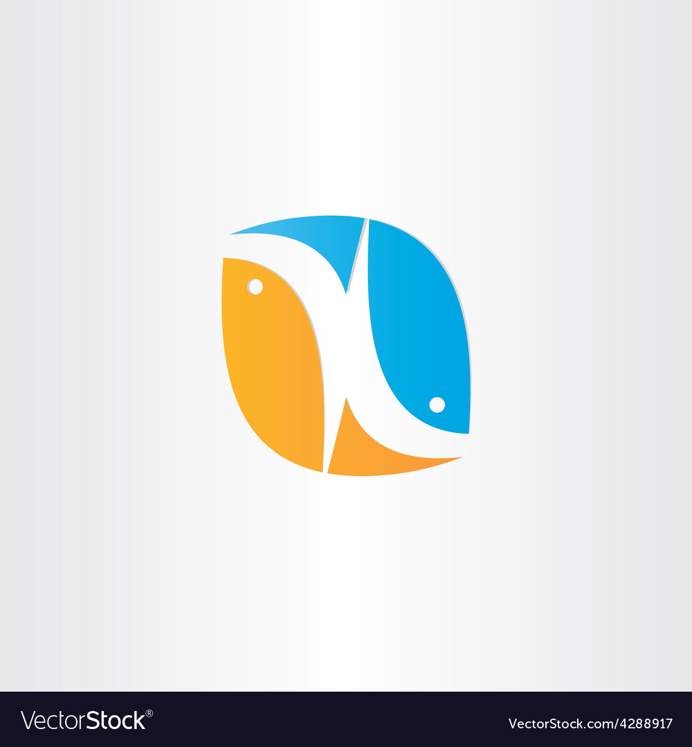 Fish jump from water icon