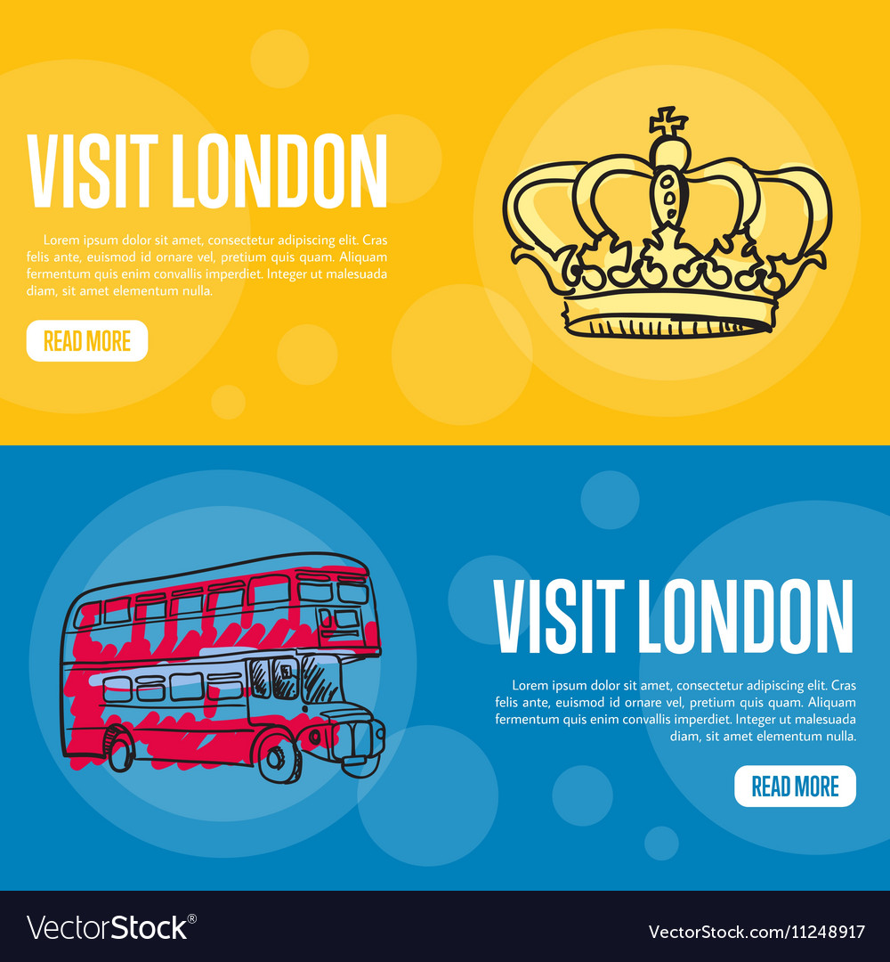 Visit London Touristic Web Banners