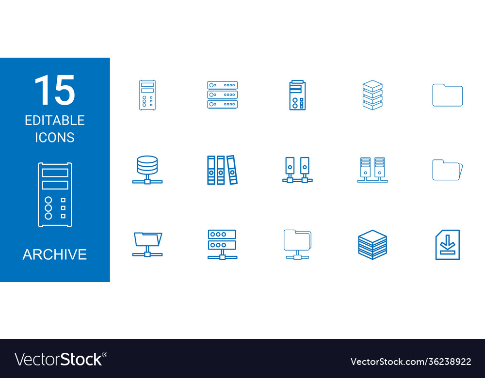 Archive icons