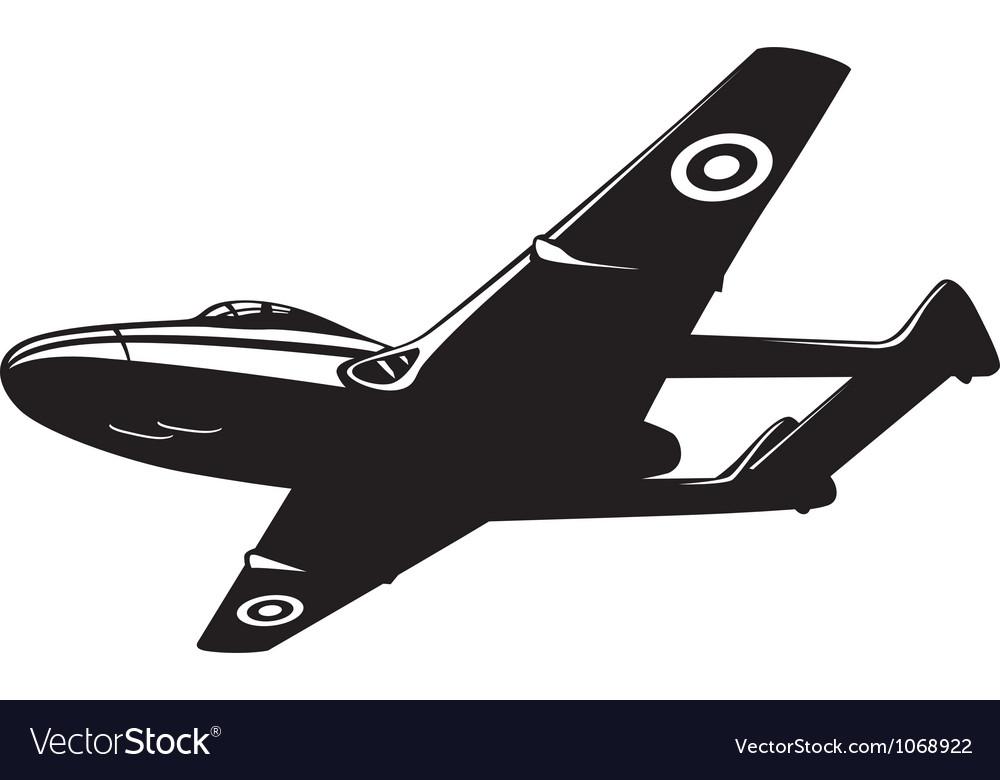 Jet fighter Vampire