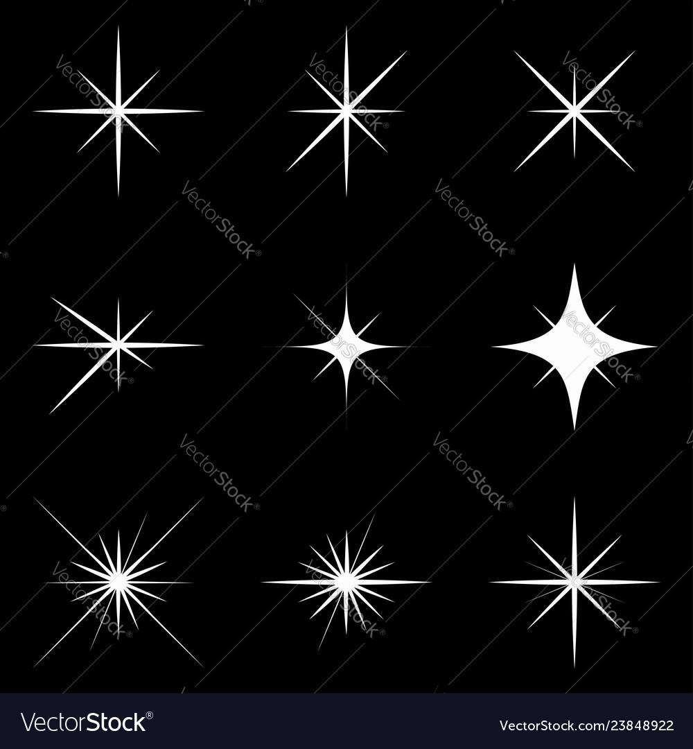 Sparkle lights stars