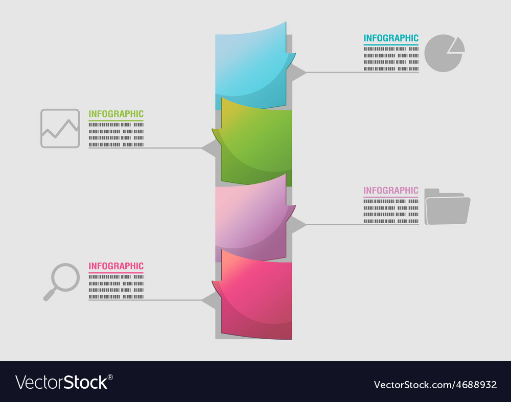 Business timeline elements workflow template