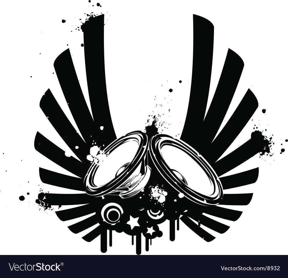 speaker royalty free vector image vectorstock vectorstock