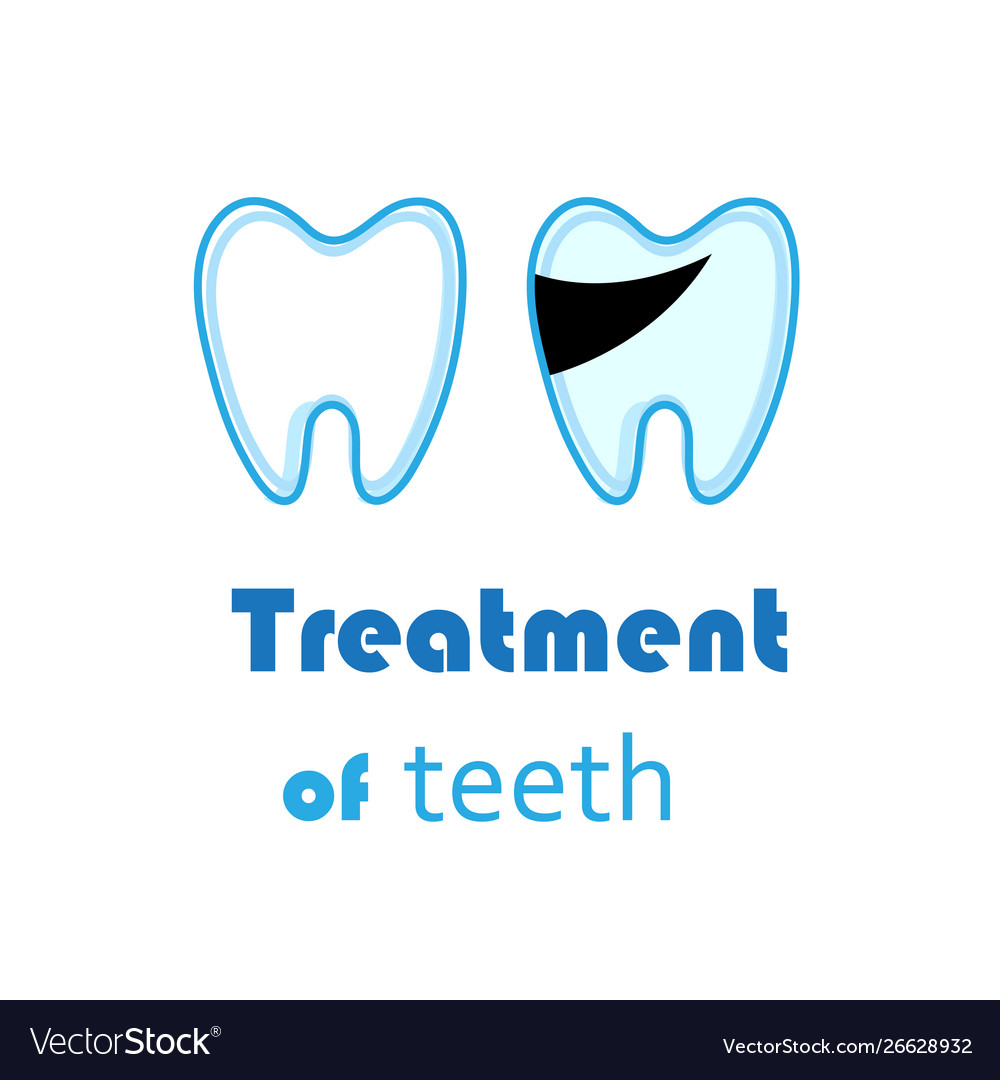 White teeth signs on white background