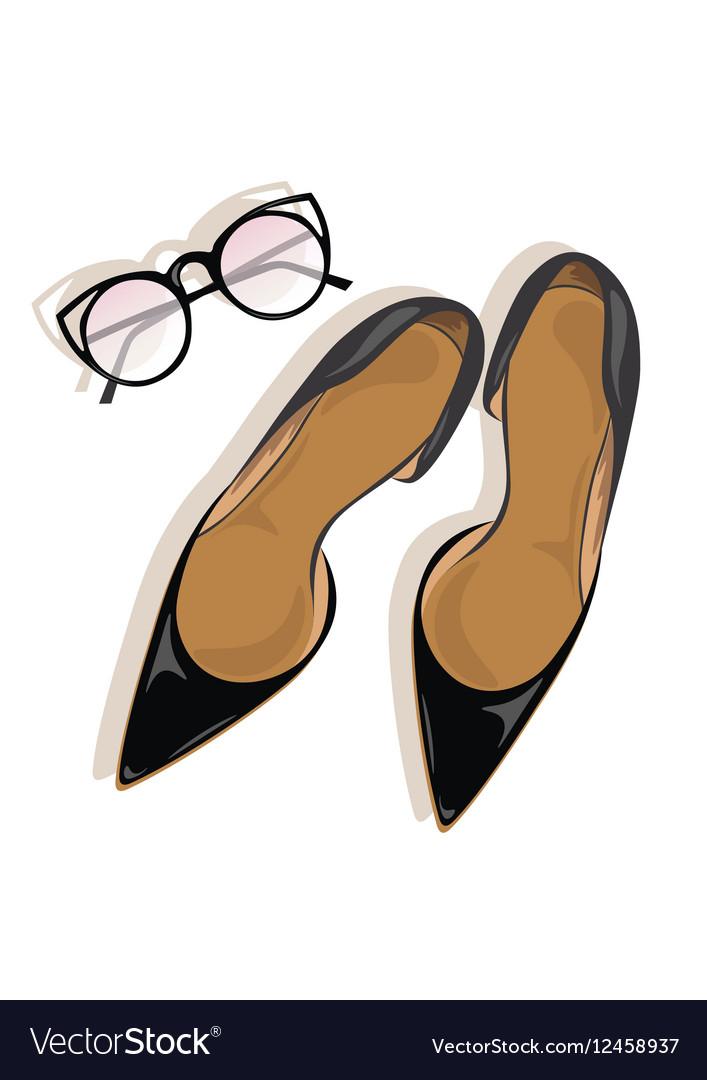Black High Heels stiletto shoes