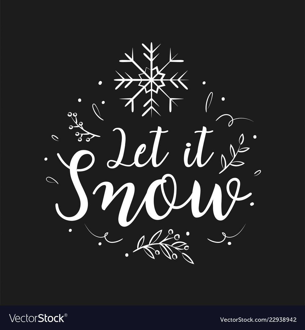 Christmas Lettering.Merry Christmas Lettering Design And Decoration