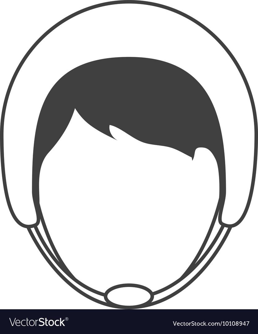 Man wearing helmet icon