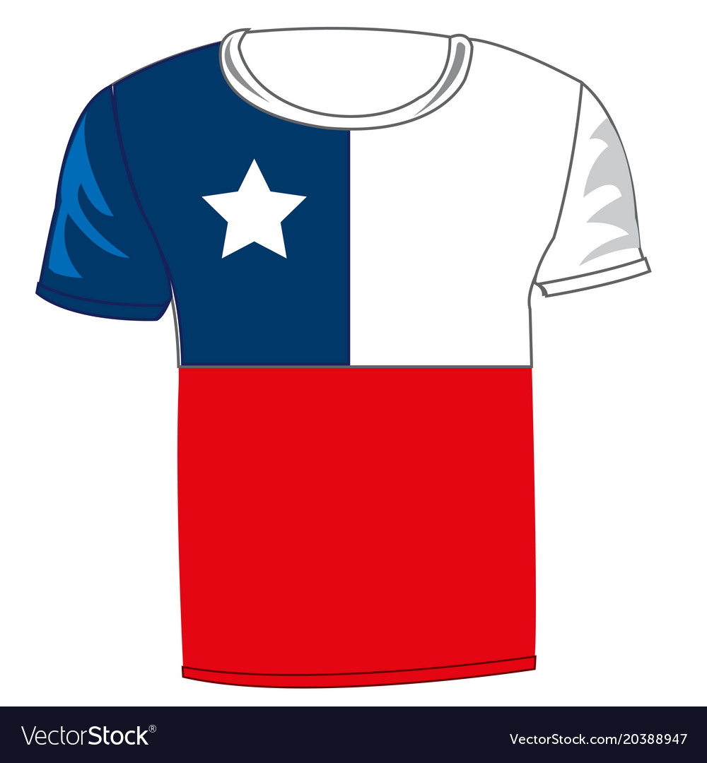 t shirt flag chile royalty free vector image vectorstock