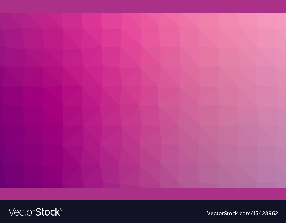 Abstract violet colorful lowploly of many