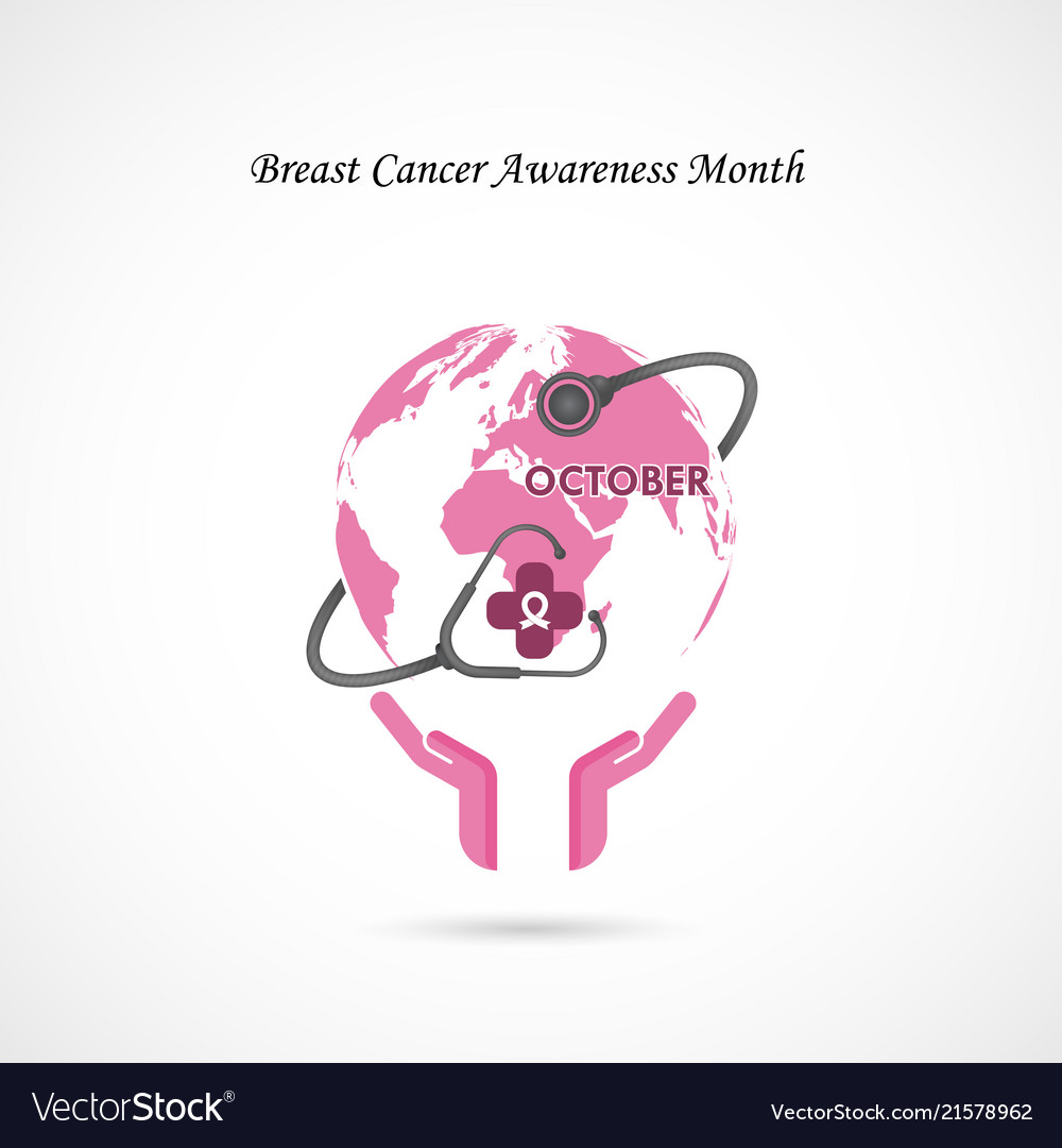 Breast cancer october awareness month campaign