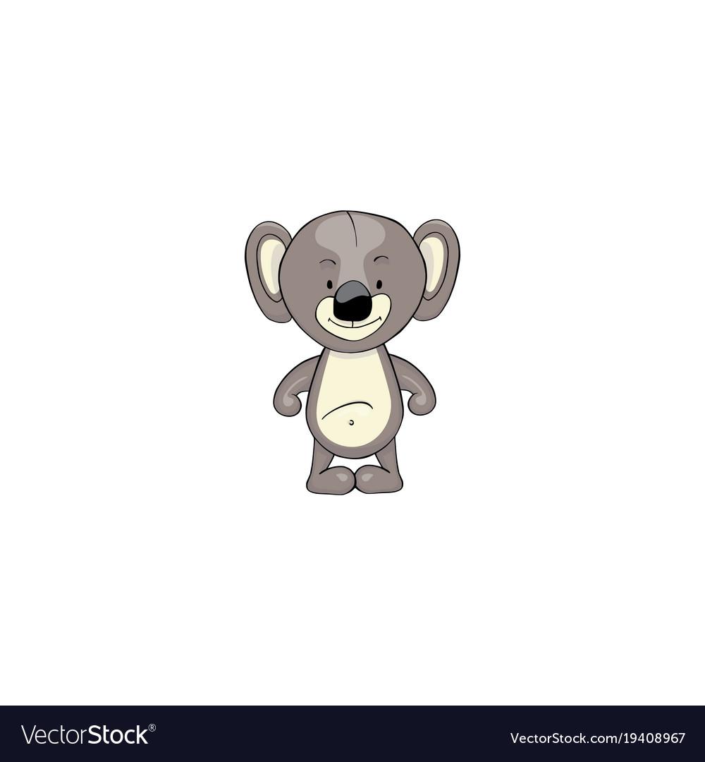 Koala cartoon icon