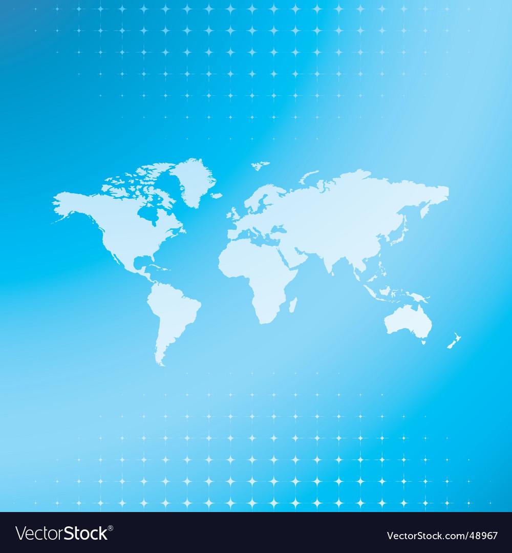 World map background royalty free vector image world map background vector image gumiabroncs Choice Image