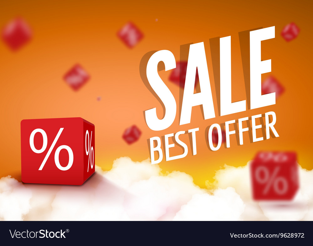 Discount boxes dice for store market and shop