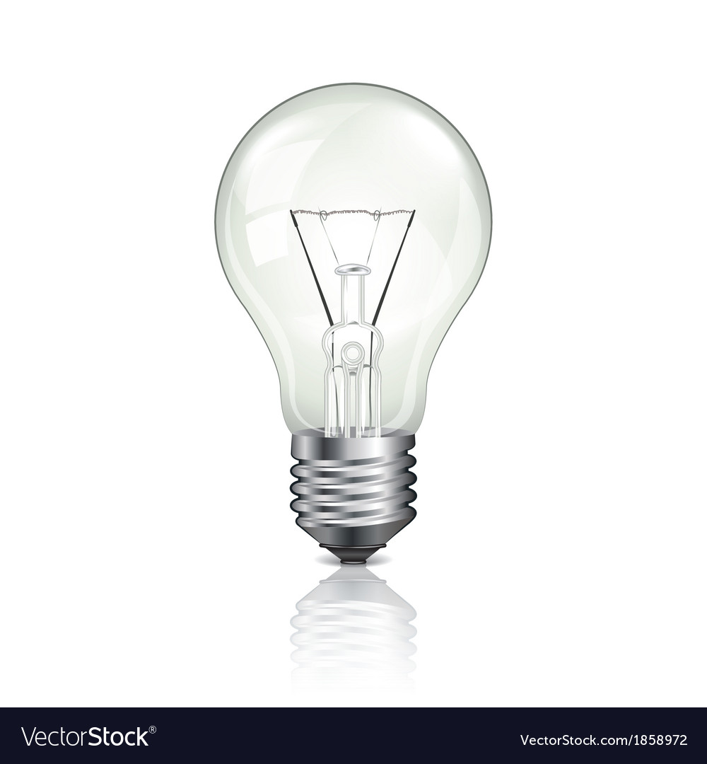 Object Bulb Off Royalty Free Vector Image Vectorstock
