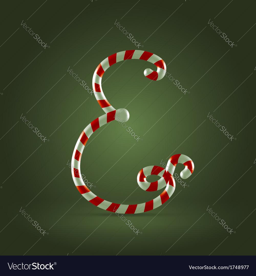 Candy cane abc E