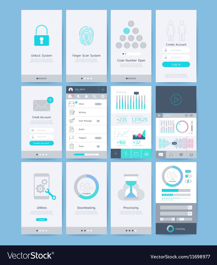 Interface and UI design elements