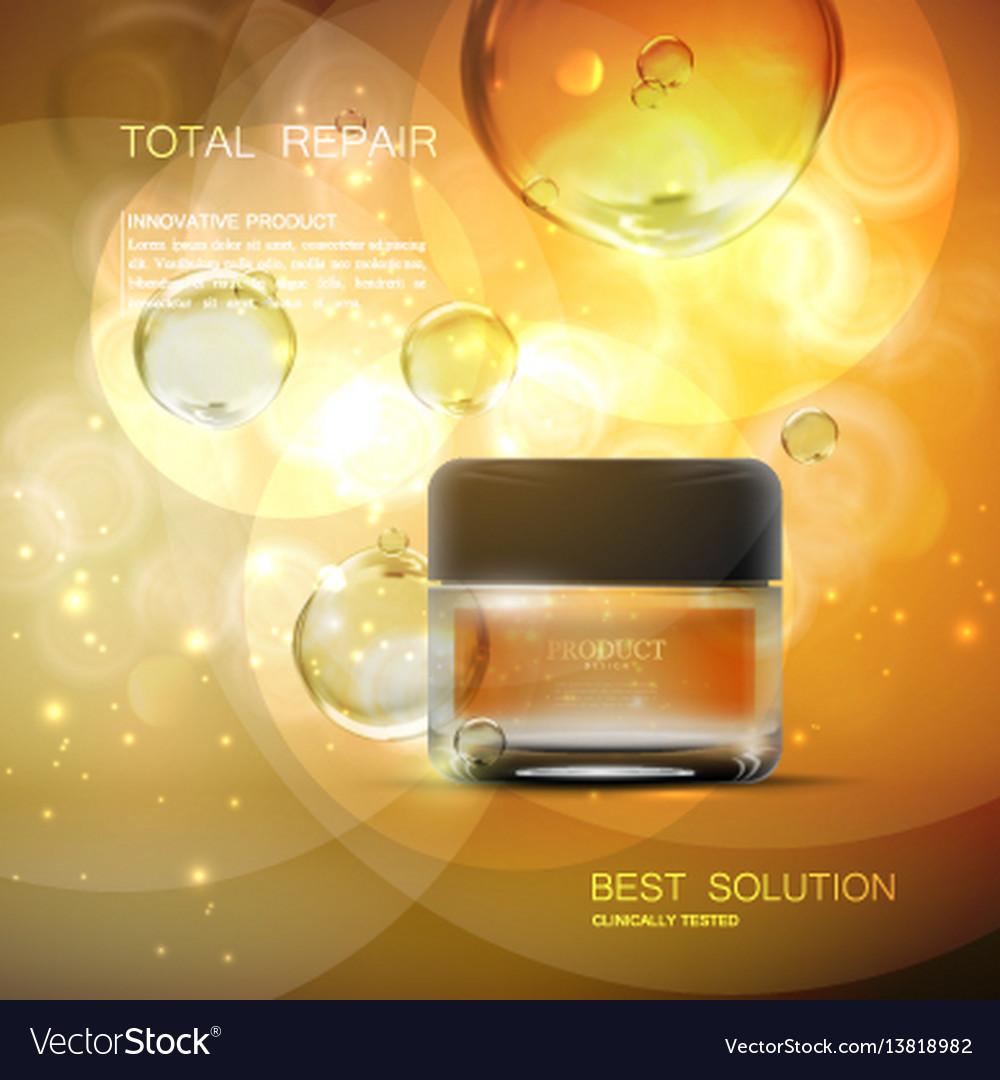 Beauty anti aging cream ads