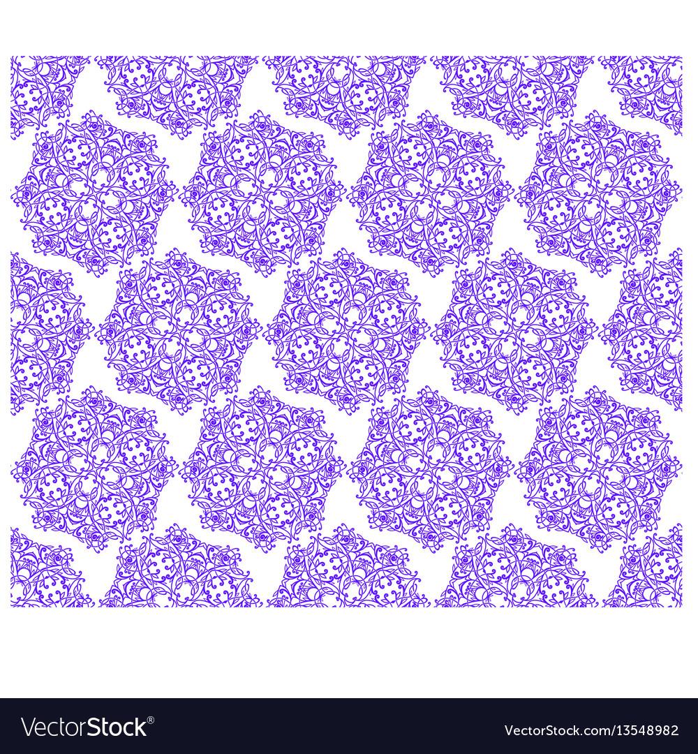 Pinstripe monogram vector image