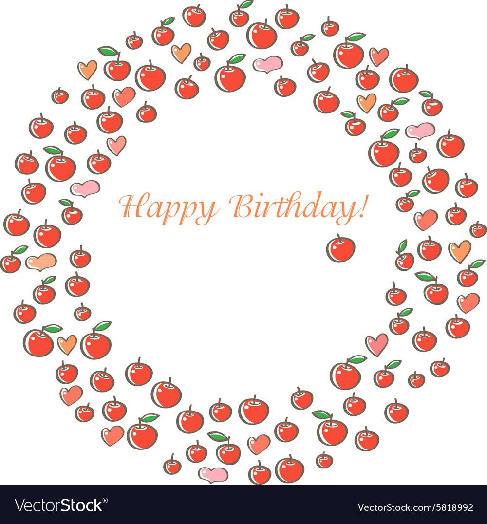Apple Happy Birthday