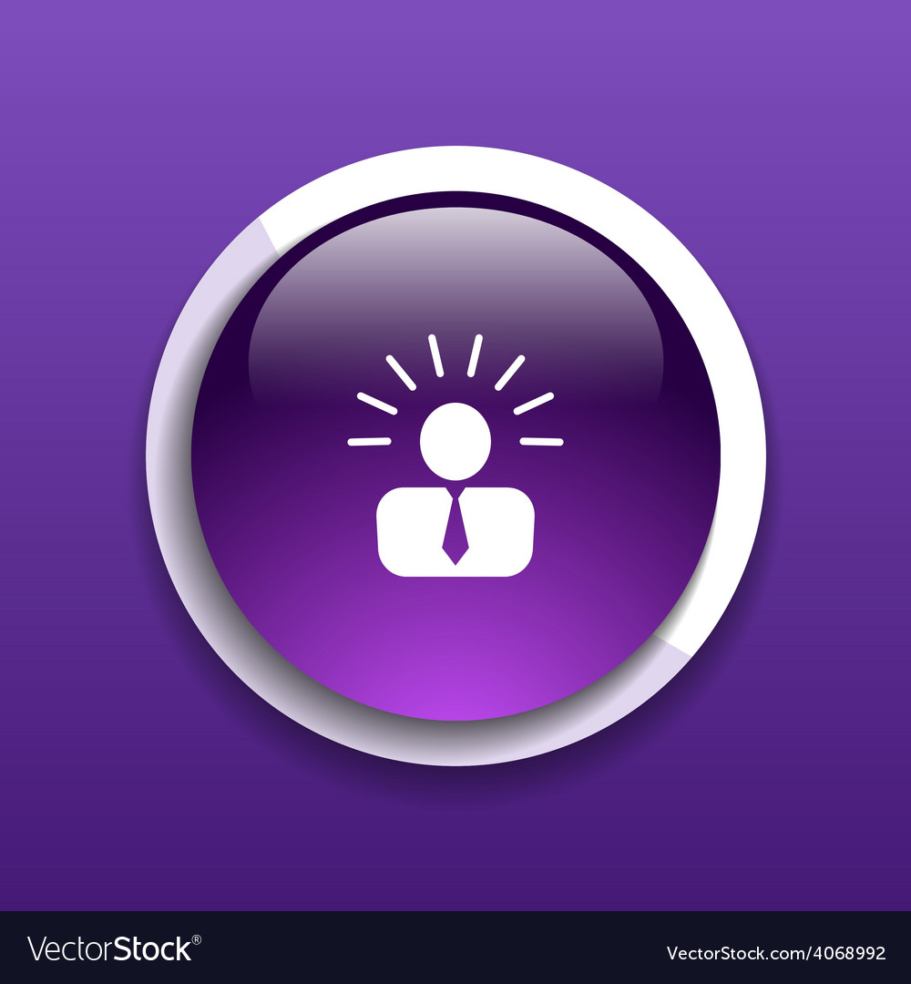 Icon suggestion idea concept lightbulb people pers