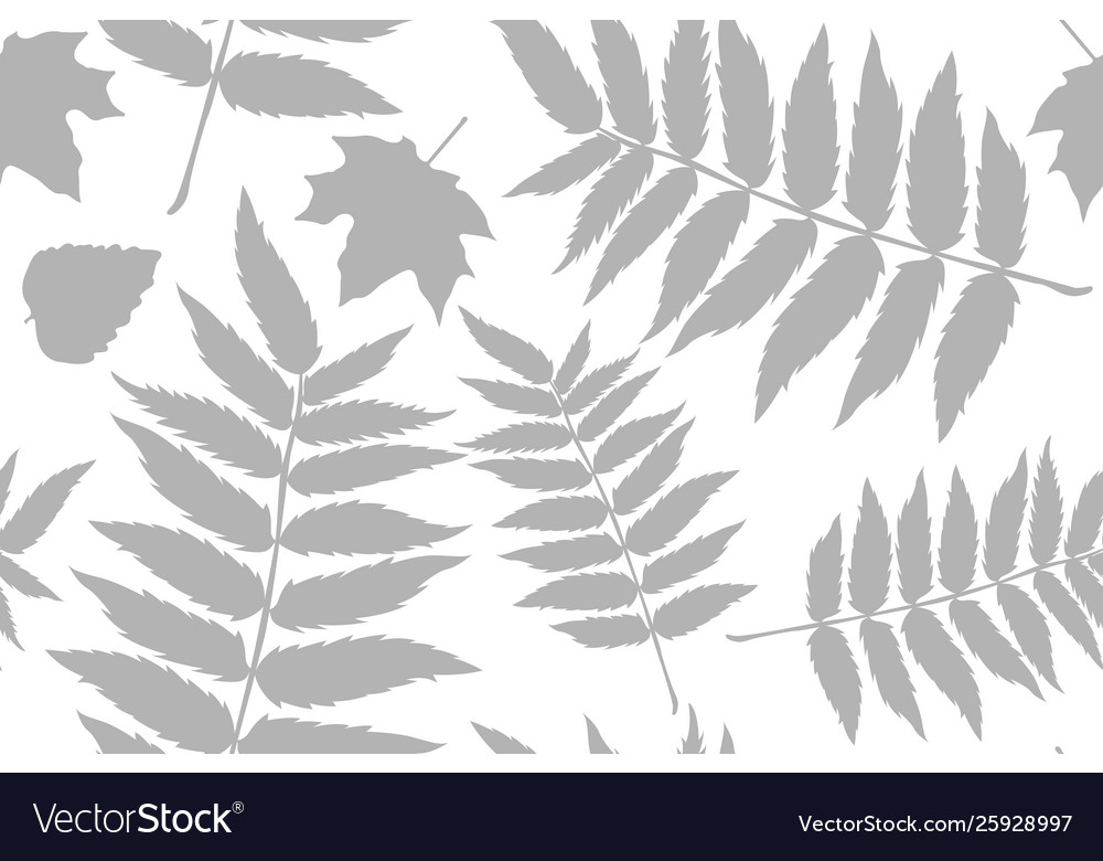 Seamless pattern with acorns and autumn oak