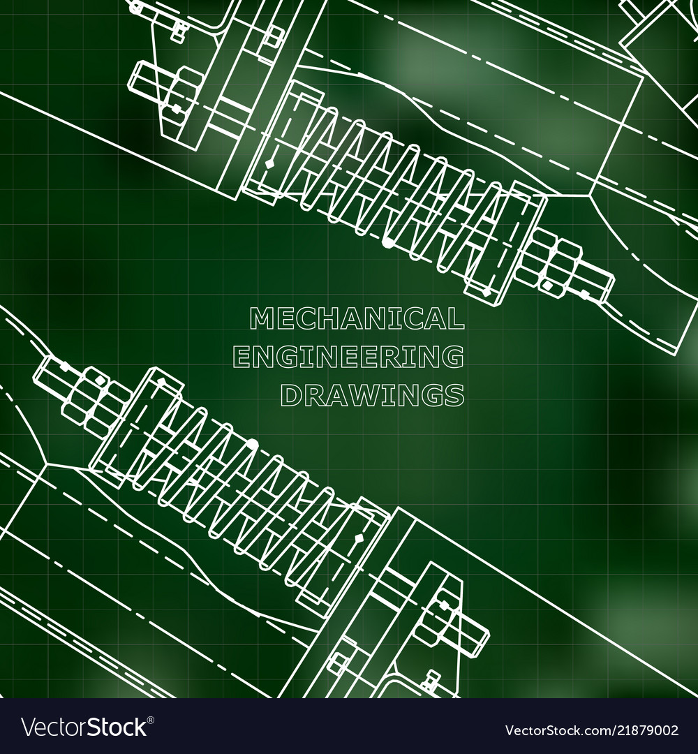 Mechanical engineering the drawing technical the
