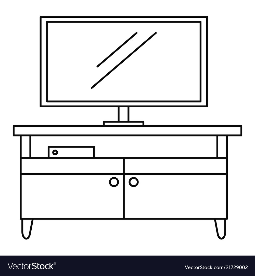Tv home cinema icon outline style