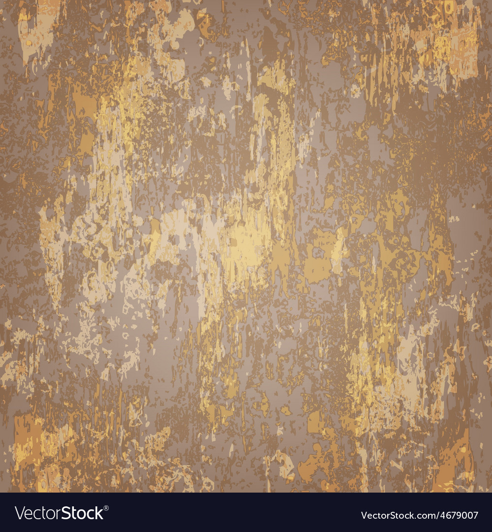 Abstract Seamless Texture Of Brown Rusted Metal Vector Image