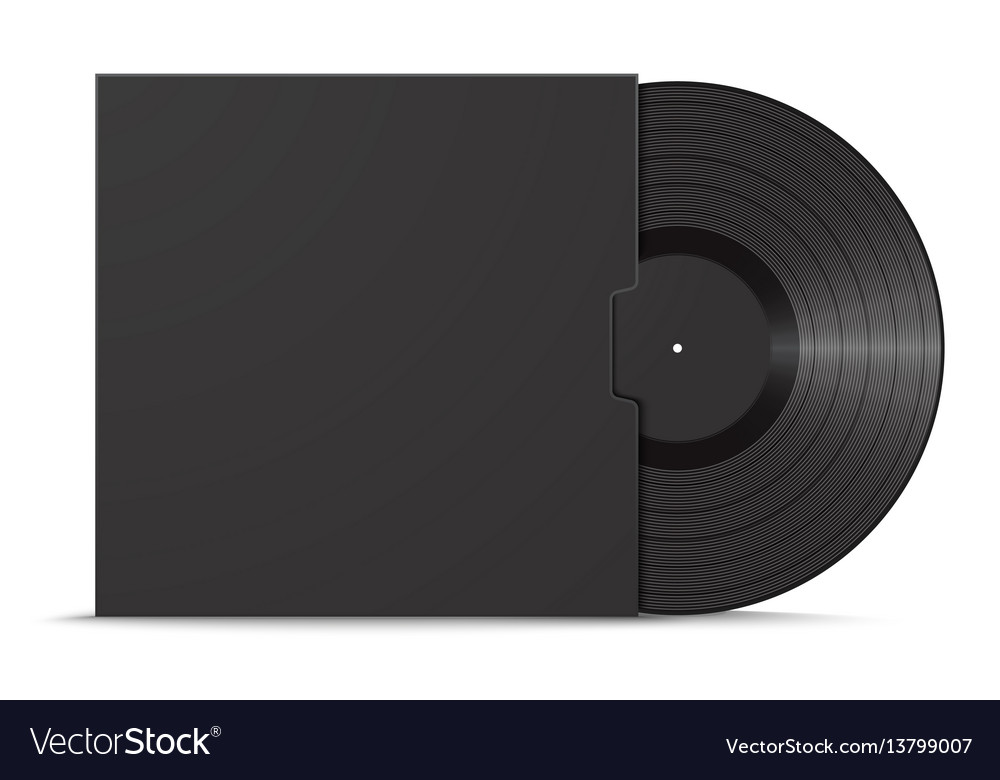 Vinyl record and sleeve cover