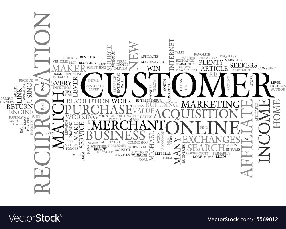 Affiliate on the roof meet the match maker text vector image