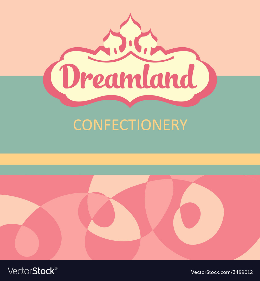 Logo and design elements for the confectionery