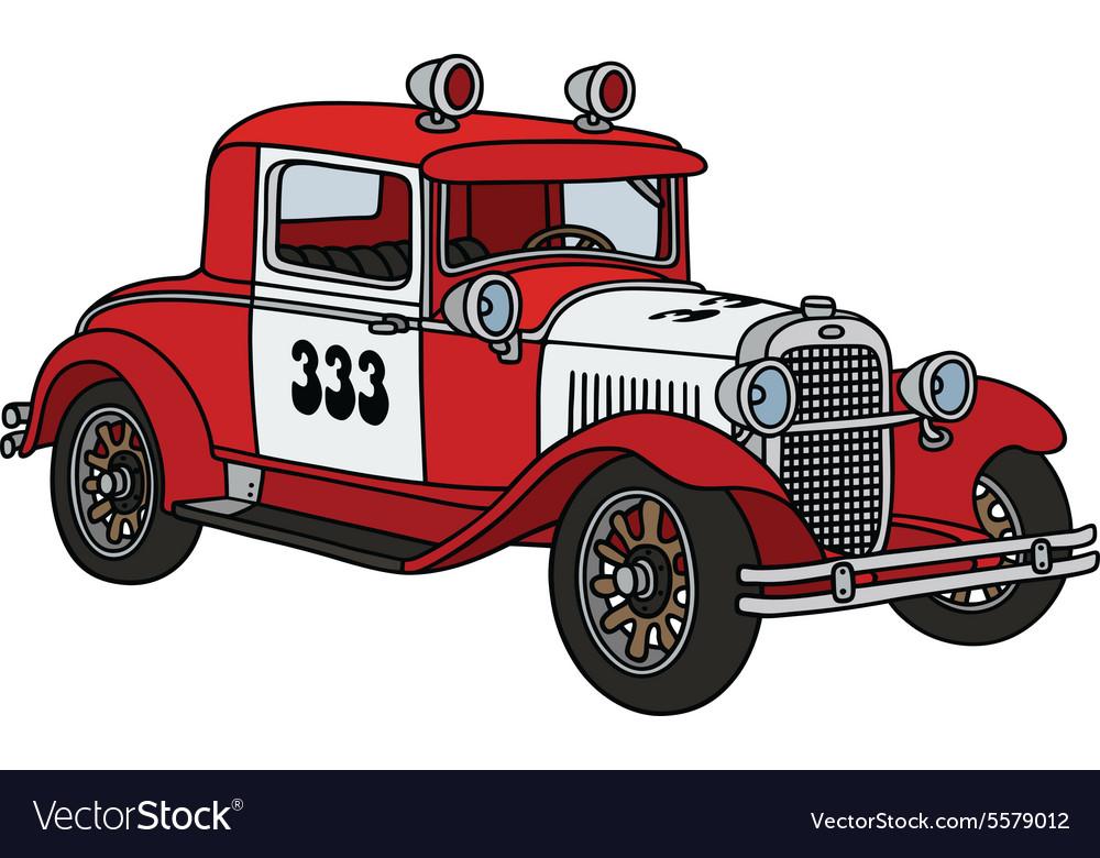Vintage fire patrol car