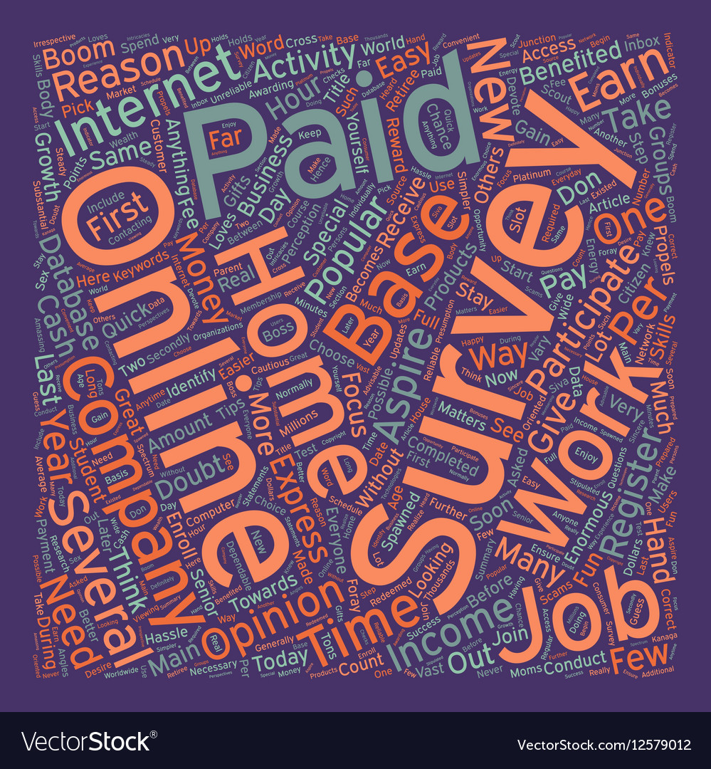 Why Paid Online Surveys Are Popular As Work At