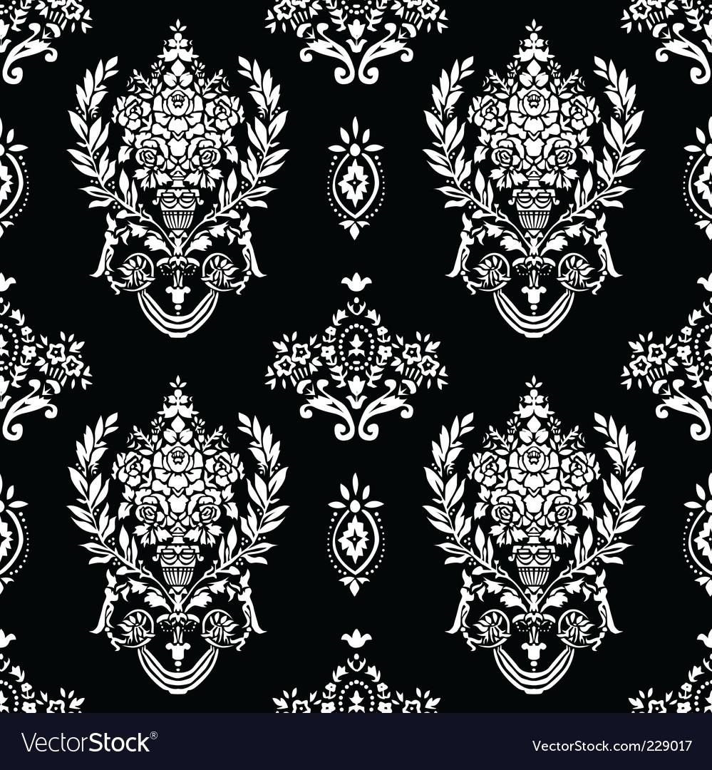 Roman vase pattern vector image