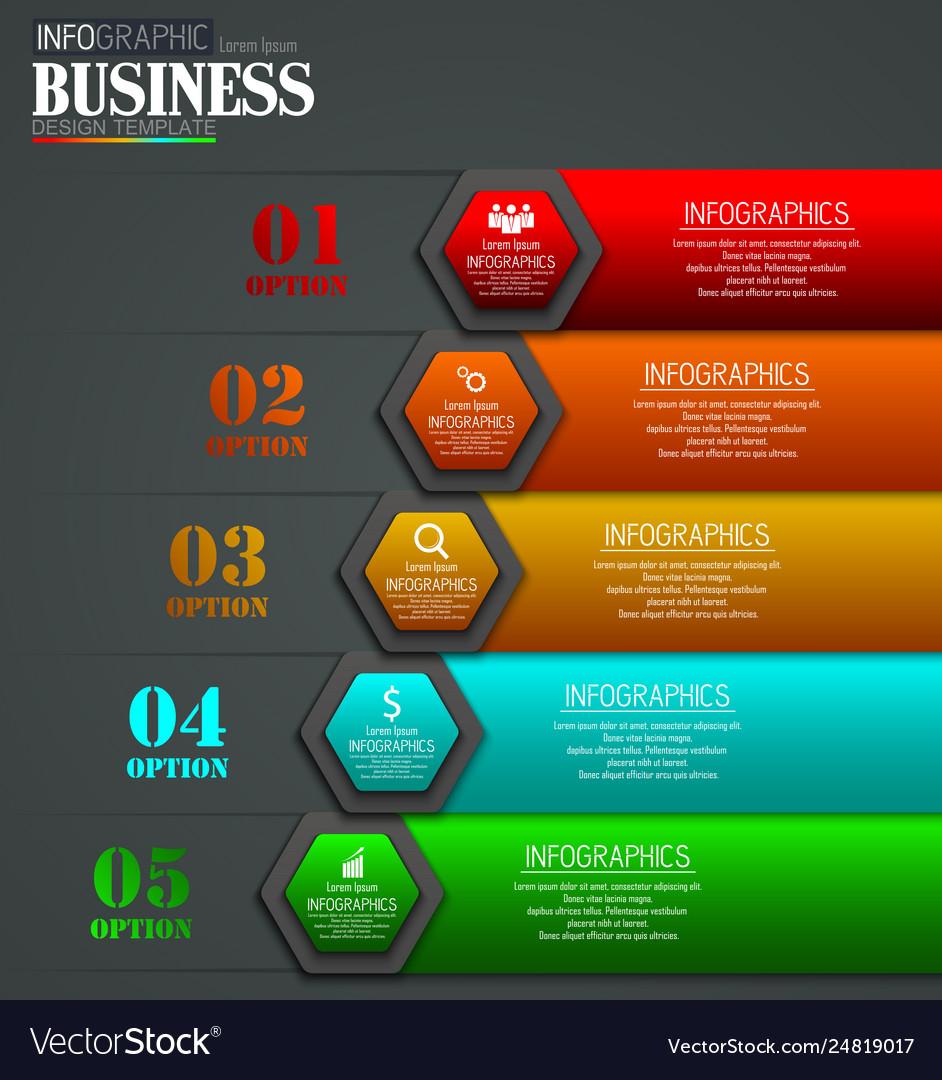 Timeline infographic data visualization design tem