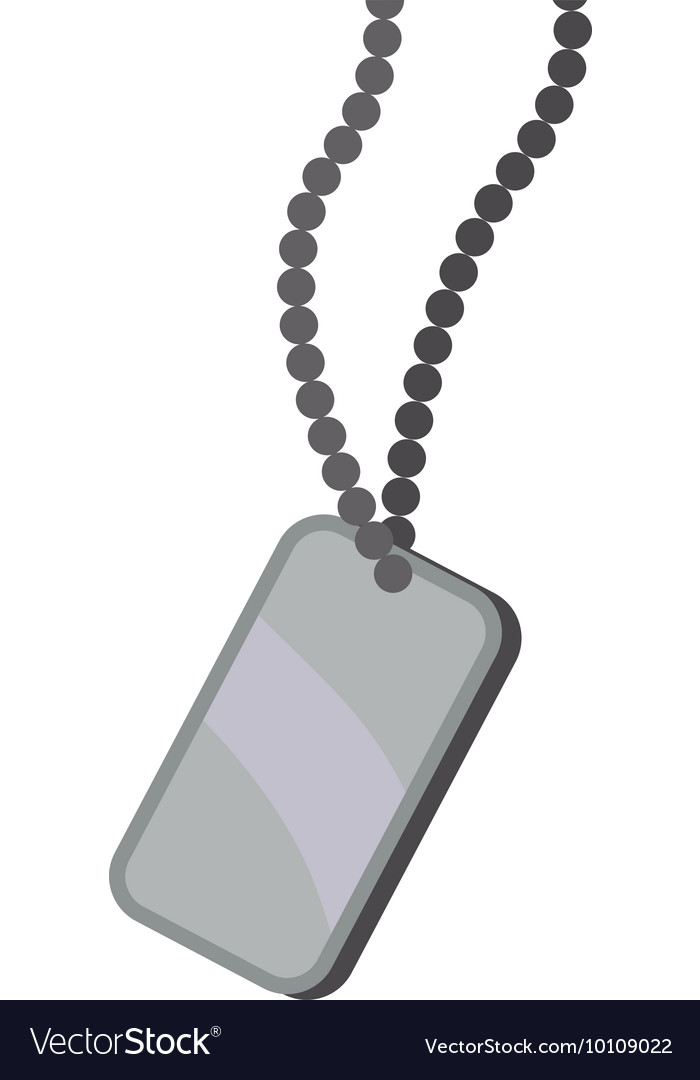 Necklace armed forces military icon