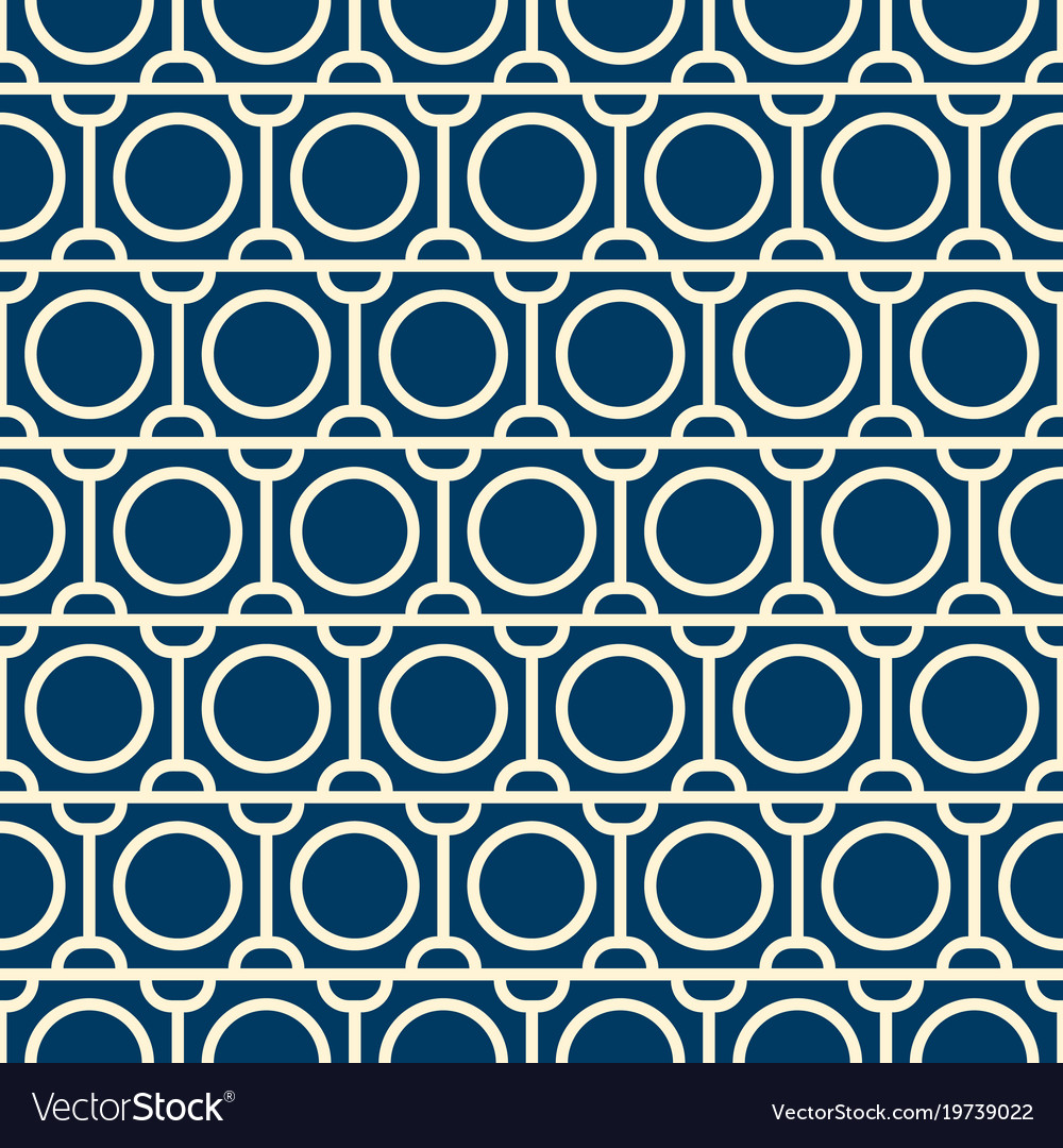 Seamless pattern with repeating objects
