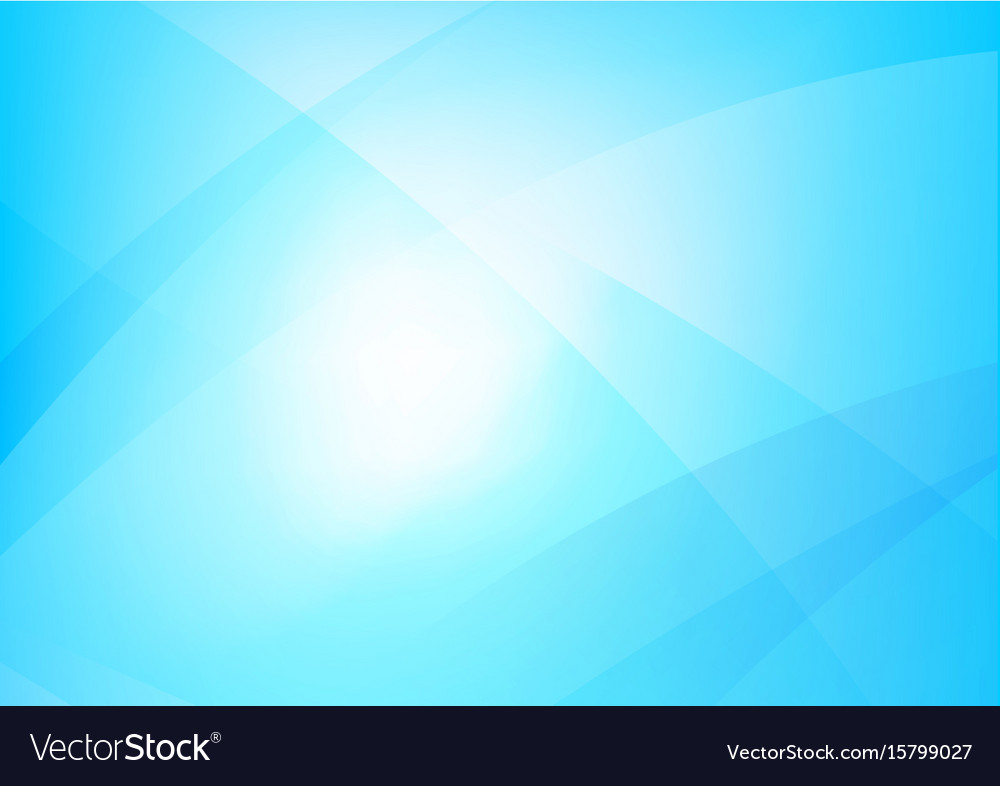 Abstract blue background with simply curve
