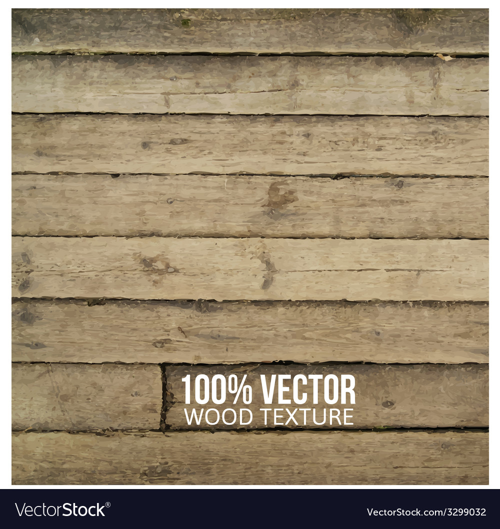 Grunge retro vintage wooden texture background vector image