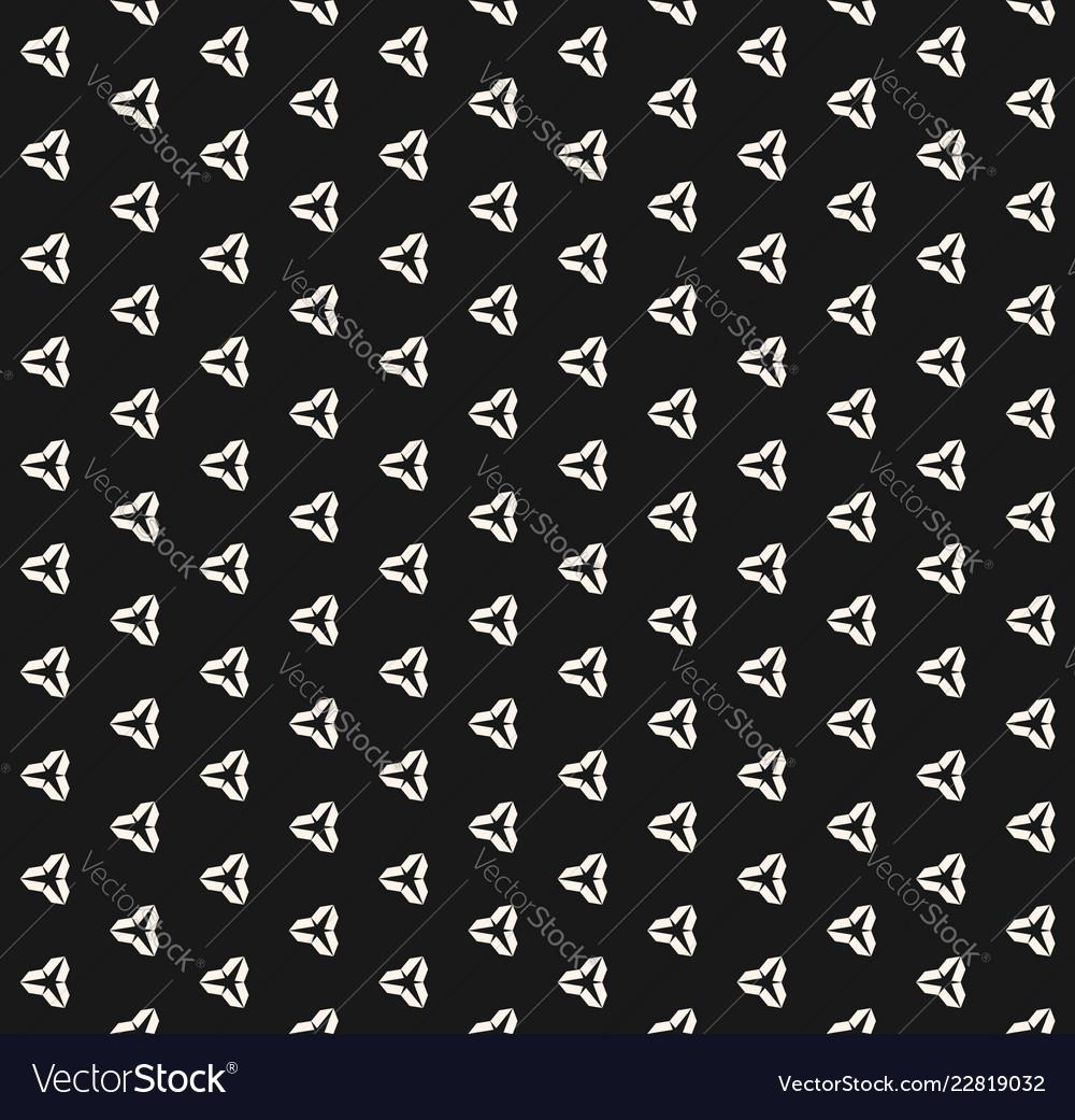 Minimalist black and white seamless pattern
