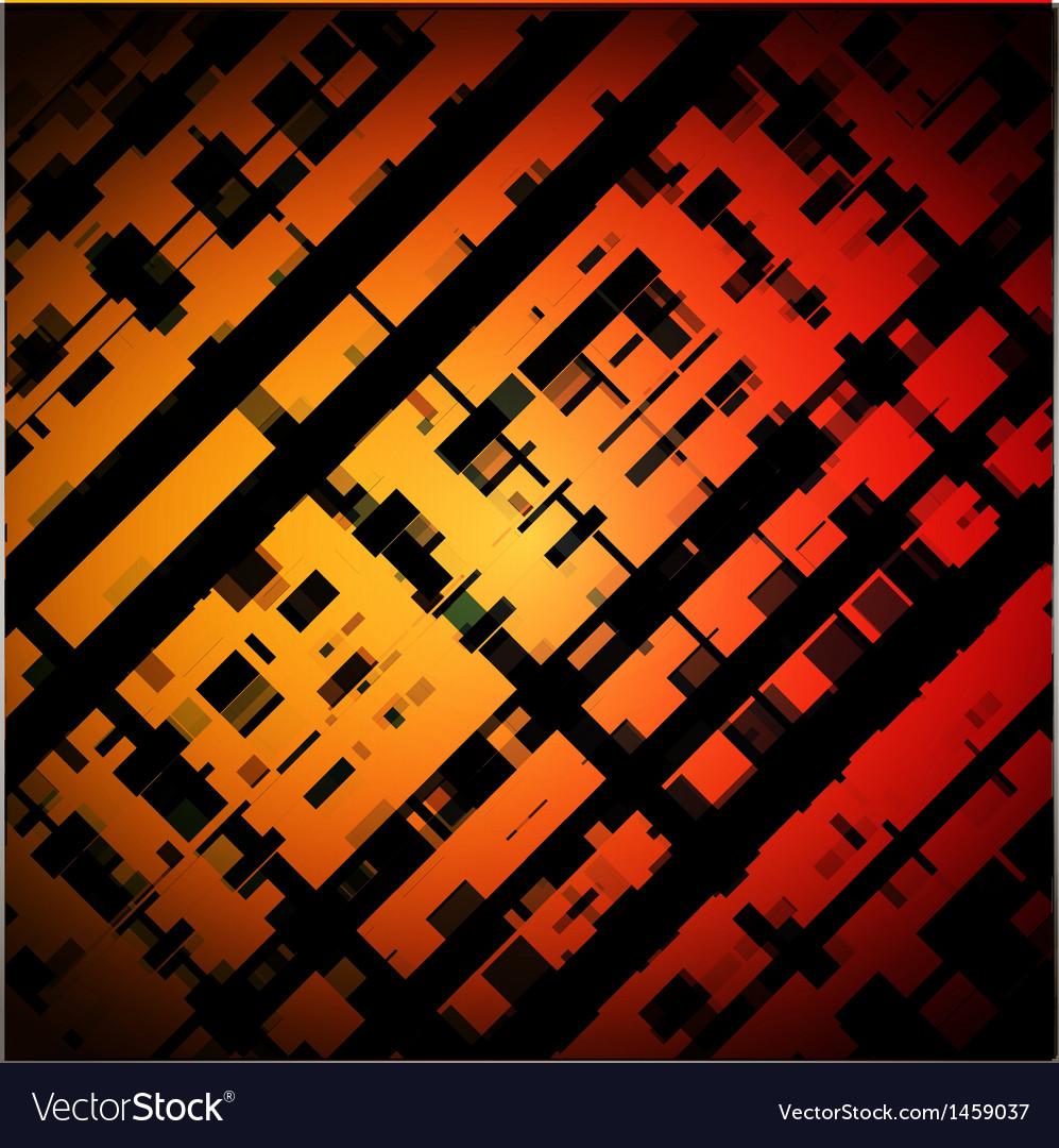 Cross hatch background vector image