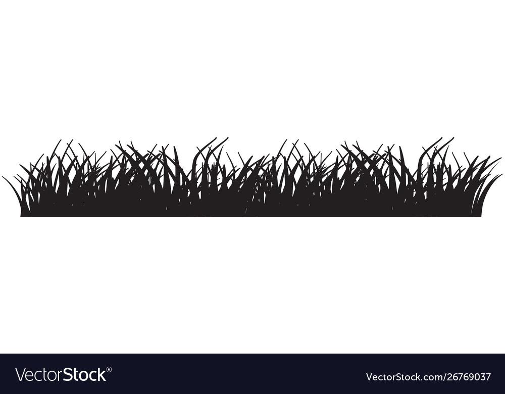grass black royalty free vector image vectorstock vectorstock