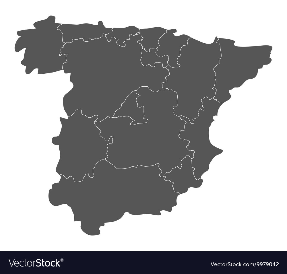 Map Of Spain Download Free.Map Of Spain With Regions