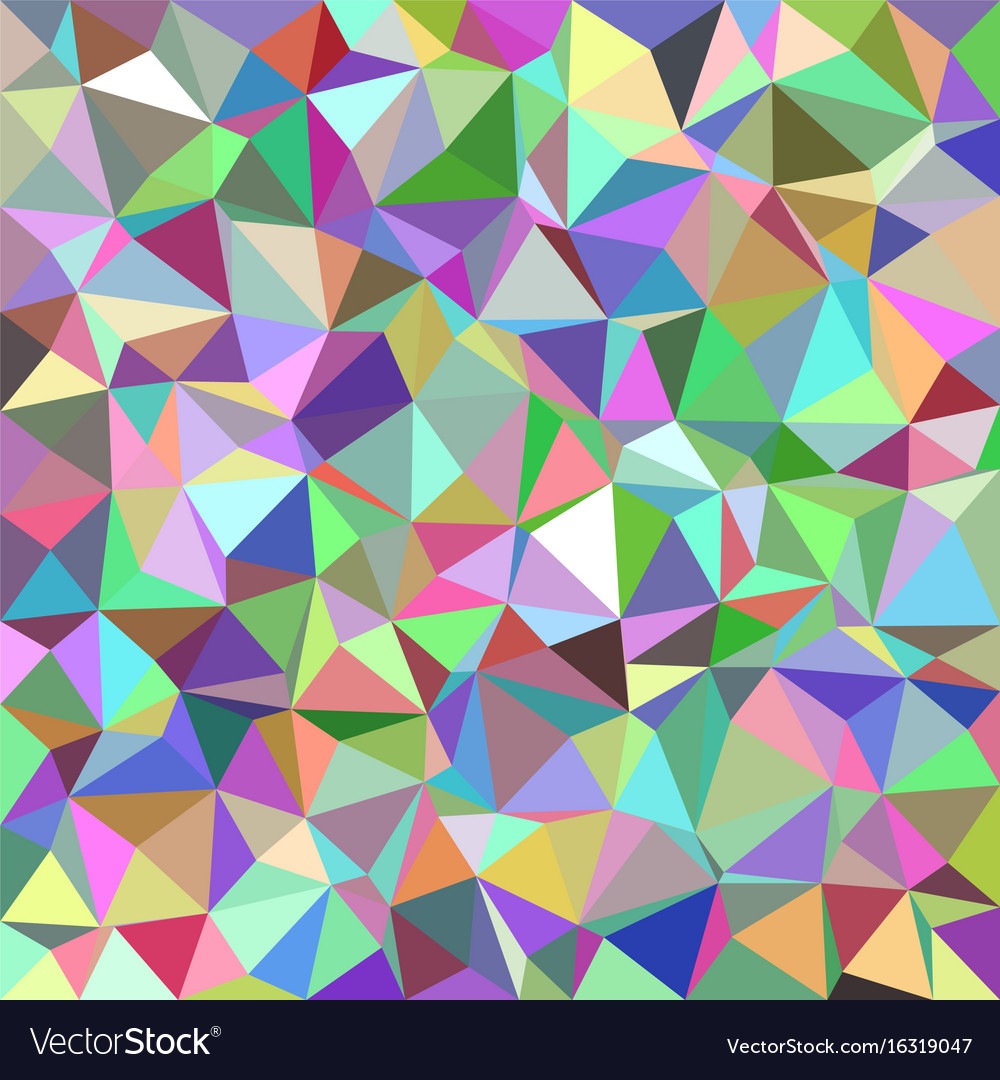 Colorful Abstract Triangle Tile Mosaic Pattern